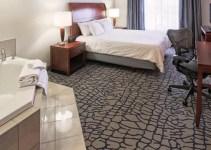 Jacuzzi suite in Hilton Garden Inn Louisville-Northeast Hotel, Kentucky