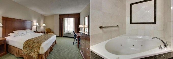 Room with a whirlpool tub in Drury Inn & Suites St. Louis Arnold, MO