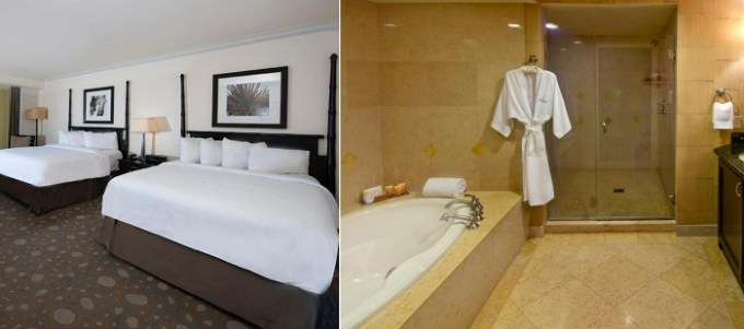 Suite with a hot tub in The Atlantic Hotel & Spa, Fort Lauderdale, Florida