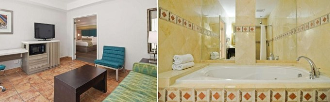 Suite with a whirlpool tub in Fort Lauderdale, Florida