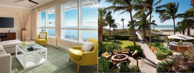 Beachfront hotel suite in Hyatt Residence Club Sarasota, Siesta Key Beach, FL