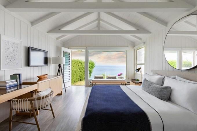 Beachfront suite in Gurney's Montauk Resort & Seawater Spa, the Hamptons, NY