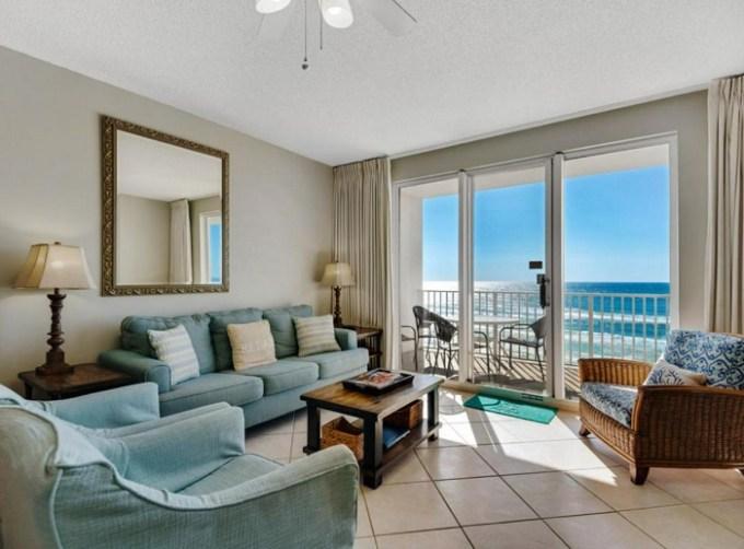 Beachfront vacation rental in Majestic Sun Complex, Destin, Florida
