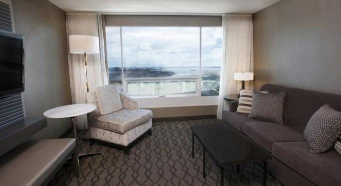 Hotel room with Niagara Fall Views in Niagara Falls Marriott Fallsview Hotel & Spa, Canada