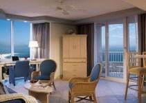 a Beachfront hotel suite in Lido Beach Resort - Sarasota, Florida