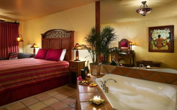 A Suite with a hot tub in the room in Avila La Fonda Hotel, near Pismo Beach, CA