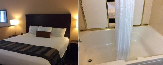 Room with a hot tub in Wingate by Wyndham High Point, near Greensboro, NC