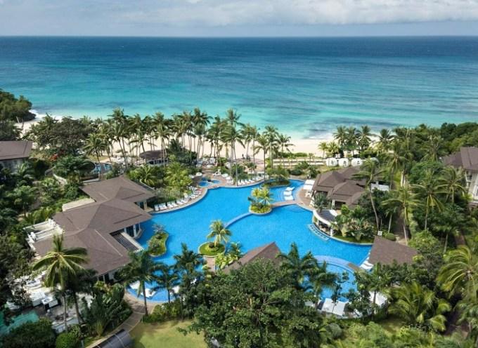 The beachfront Movenpick Resort & Spa Boracay, Philippines