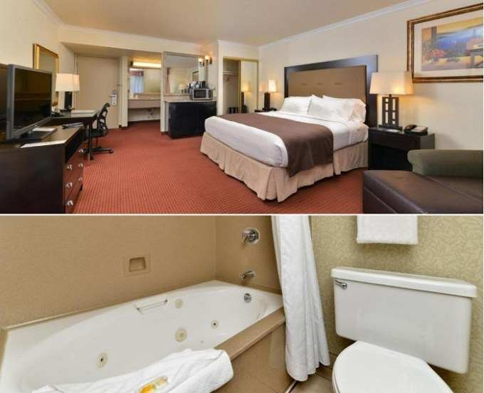 Room with a Jetted tub in Holiday Inn Rancho Cordova - Northeast Sacramento, an IHG Hotel, CA