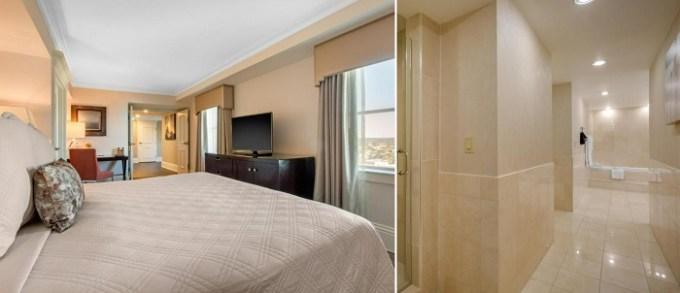 Suite with a hot tub in Omni Providence, Rhode Island, USA