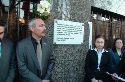 11M: Dezvelită o placă memorială pentru cei 16 români ucişi în atentate