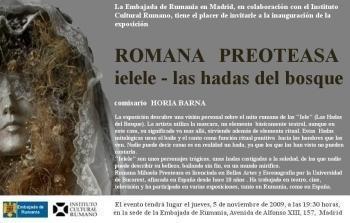 """""""Hadas del bosque"""" en la Embajada de Rumania"""