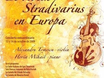 Santiago de Compostela: Stradivarius tocado por violinista rumano