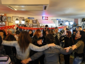 Româncele au petrecut de 8 martie la Barcelona