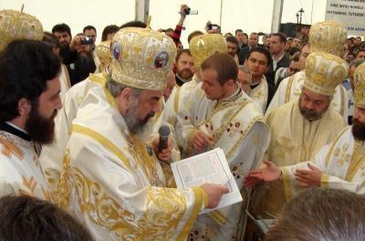Patriarhul a pus piatra de temelie a primei Catedrale ortodoxe din Spania