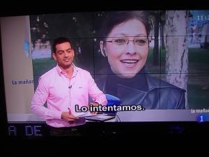 Românca Angelica Părpăluţă – premiată de primăria Logroño după ce a înapoiat o valiză cu bani