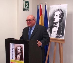 Eminescu sărbătorit la Madrid şi la Coslada