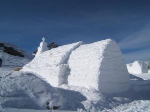 Turism şi artă de gheaţă la Bâlea Lac