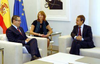 Victor Ponta cu jalba in protap la Zapatero si Rubalcaba