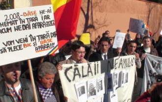 "Protestele ajung la Madrid: ""Va rugam sa ne scuzati nu trimitem cat furati"""