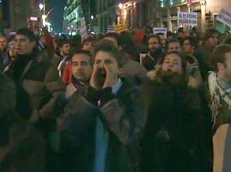 Proteste impotriva reformei pietei muncii din Spania