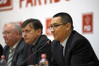 20 de ministri vor forma guvernul Ponta
