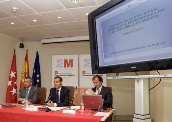 Scade pentru prima data numarul romanilor din Madrid