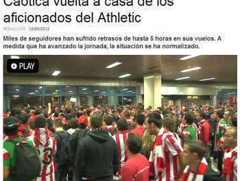 """Fanii Athletic Bilbao despre Romania: """"Ne-au tratat ca pe niste animale"""""""