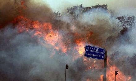 Catastrofa in Catalunia: 3 morti, 22 de raniti si 13 mii de hectare arse de un incendiu greu de controlat