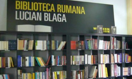 "Cărți românești la Madrid – la biblioteca ""Lucian Blaga"""