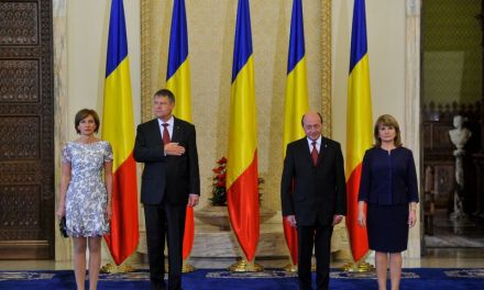 Iohannis  – Băsescu, predare de ştafetă la Cotroceni