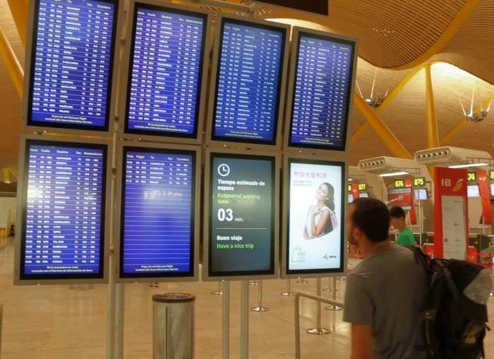 Aeroporturile din Spania vor avea camere termografice