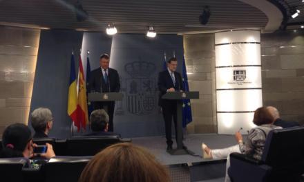 Iohannis – primit de regele Spaniei și de Mariano Rajoy