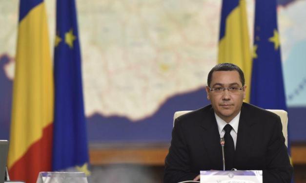 Victor Ponta demisionează sub presiunea străzii