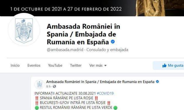Haos și dezinformare la ambasada României de la Madrid… din nou!