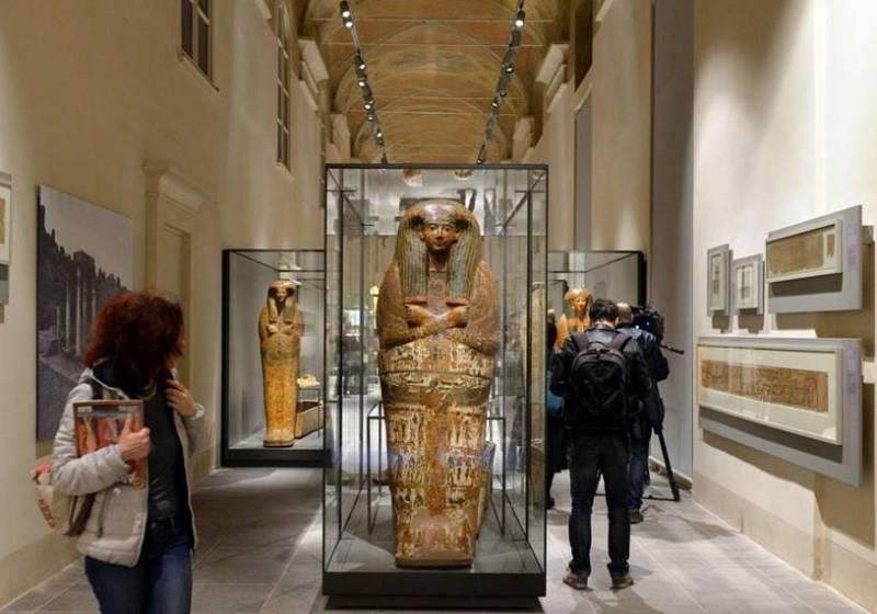 O Museu Egípcio De Turim