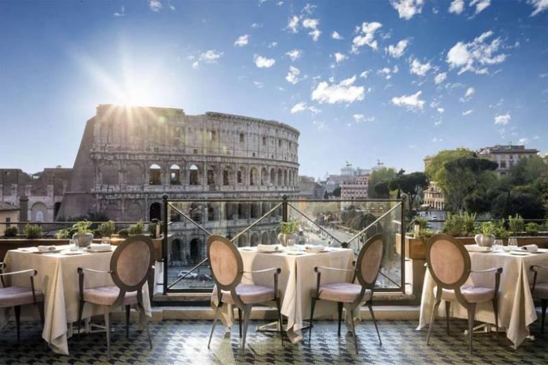 melhores hoteis em roma