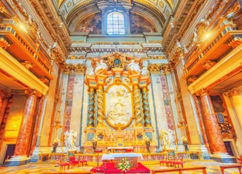 Igreja santo Inacio de Loyola