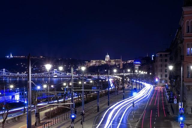 Roma, panorama noturno