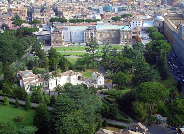 Jardins vaticanos
