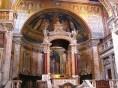 O altar da Basílica de Santa Maria Maior