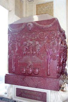 Sarcófago de Constantina que nos dias de hoje é conservado nos Museus Vaticanos