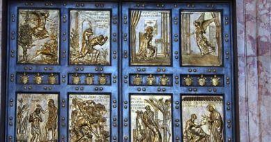 Detalhe da Porta Santa