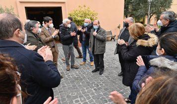 nomina di don Benoni Ambarus a vescovo ausiliare di Roma, Casa Santa Giacinta, 20 marzo 2021