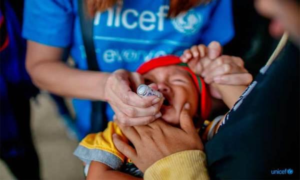 Poliomielite, Oms e Unicef accanto ai bambini delle Filippine | RomaSette