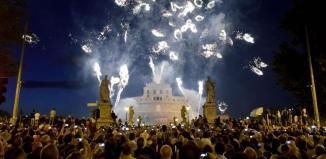 I fuochi d'artificio della Girandola