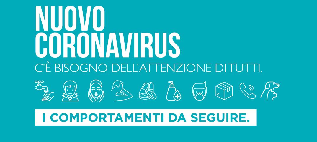 Il decalogo della Regione Lazio contro il coronavirus