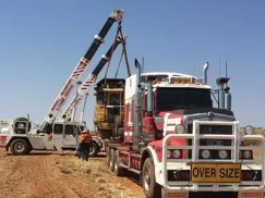 Roma Transport Services specialises in heavy haulage.