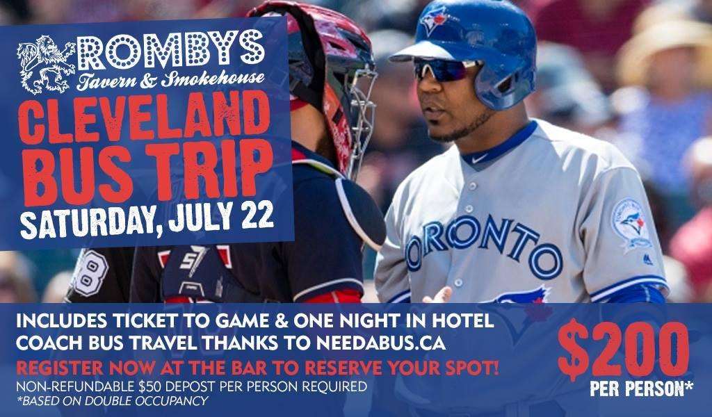 Cleveland Bus Trip Toronto Blue Jays