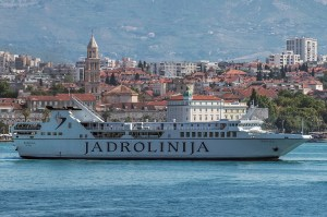 One of the best ferries sailing the Adriatic is Jadrolinija's 100m-long Korčula, completed in 2017 with a capacity of 700 passengers and 170 vehicles (Credit: Jadrolinija)